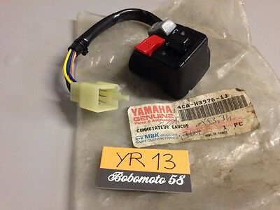 Yamaha 4CA-H3976-11 CW50 YA50 ZUMA commodo gauche  , left switch handle NOS