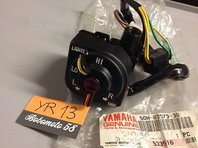Yamaha 50M-83973-30 XC125 cygnus Beluga XC 125 commodo , switch handle NOS