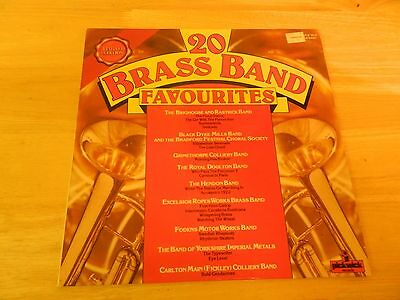 20 Brass Band Favourites(Vinyl Lp Ple7015 Uk Limited Edition)