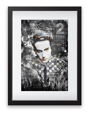 A3 FRAMED The Specials 2tone Art Print - Limited Edition