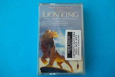 """""""the Lion King"""" Musicassetta Ost  Sealed"""