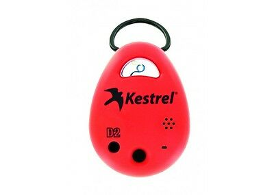 Kestrel DROP D2 (0720RED) Wireless Temperature & Humidity Data Logger, Red