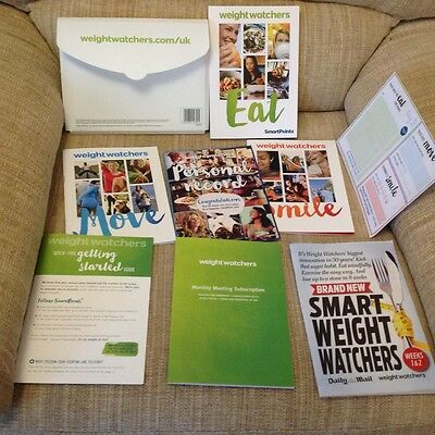 Weight  Watchers starter pack. New in plastic holder. See photos