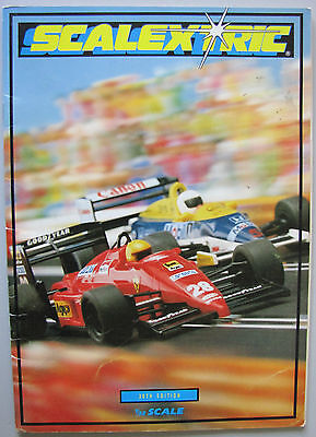 Vintage Scalextric 30th Edition Catalogue 1989 and pricelist