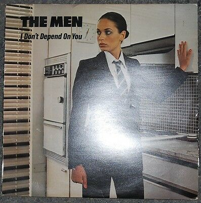"The Men (Human League)  I Don't Depend On You  Original Uk 12"" Single Very Good+"