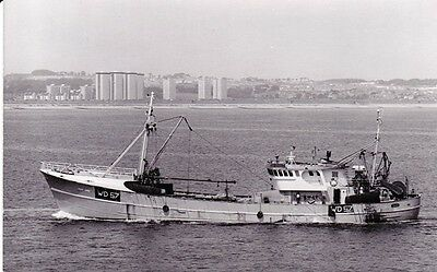 FISHING VESSEL Doyle Wexford trawler MARY AGNES WD57 (built 1975) photograph