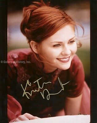Kirsten Dunst - Photograph Signed
