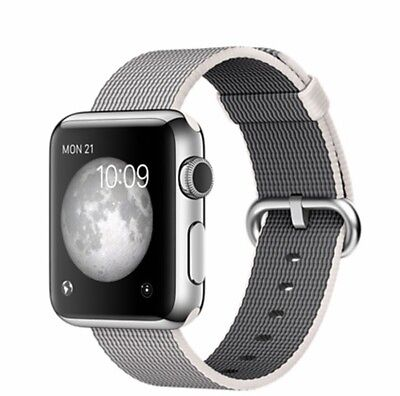 Apple Watch 38mm Stainless Steel Pearl Woven Band - BRAND NEW IN BOX