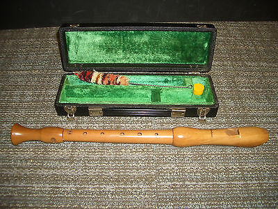 Mollenhauer Recorder with case