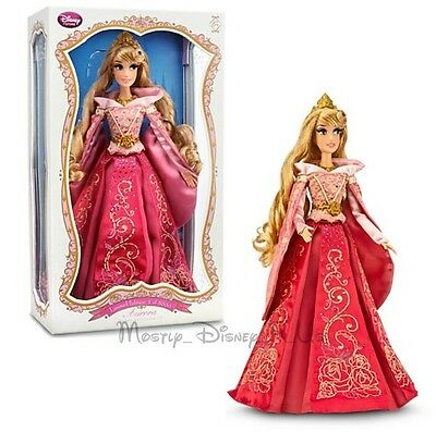 """Disney Store Sleeping Beauty Aurora 17"""" Limited Edition Collector Doll LE 5000"""