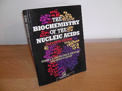 The Biochemistry of The Nucleic Acids by Adams,Knowler & Leader - paperback.