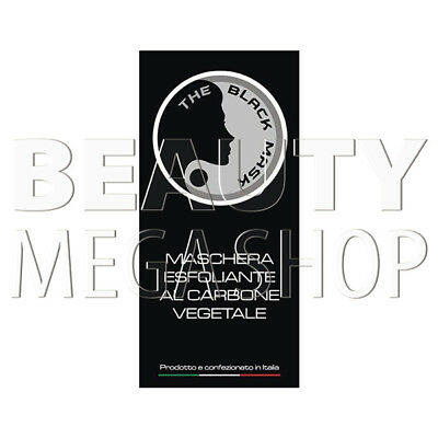The Black Mask – Maschera Esfoliante al Carbone Vegetale Vari Formati