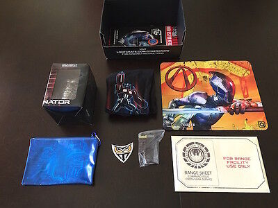 Complete SEALED Loot Crate June 2015 Cyber Shirt size Mens XXXL