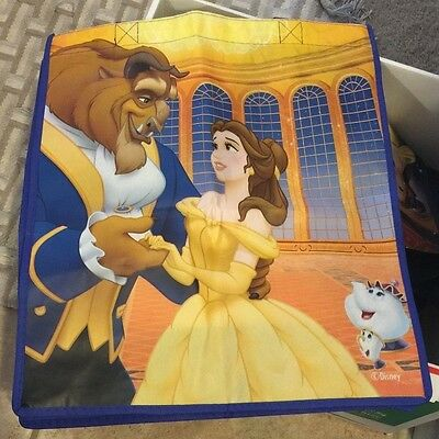 Disney's Beauty and the Beast REUSEABLE TOTE BAG New with Tag RARE