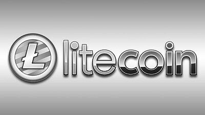 Litecoin (LTC) 1 (one) Litecoin Direct to your Wallet Address Cryptocurrency A3a