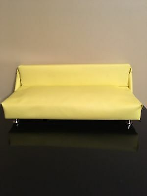 """Diorama Piece) Solid Wood Faux Leather Sofa Gene VIOLET MADRA TONNER  TRENT 16"""""""
