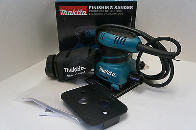 New Makita BO4556 2 Amp Corded 1/4 Sheet Finishing Sander