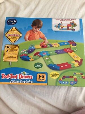 Brand New Vetch Baby Toot Toot Drivers Deluxe Track Set