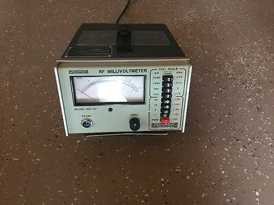 Boonton Electronics Voltmeter Model 92a-s2