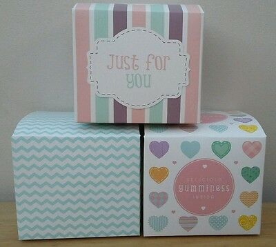 Cup cake boxes individual muffin fairy cake display box 1 6 12 18 24 single