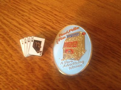McDonald's Slot and ACES Collector Pins