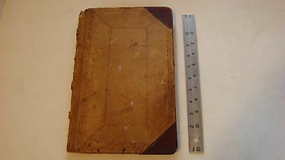 Vintage Accounting Book keeping Ledger 1909 - 1920
