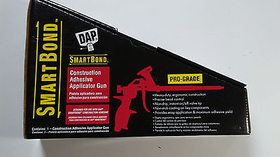 DAP, SmartBond, Construction Adhesive Applicator Gun, PRO-GRADE