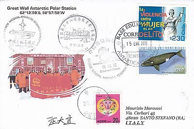 China - antarctic cover from Chinare 28