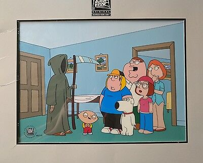 Family Guy Death Is A Bitch #84/175 Limited Edition Cel 2006
