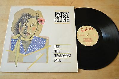 Patsy Cline ‎– Let The Teardrops Fall Vinyl Record LP BWY71 1983 UK