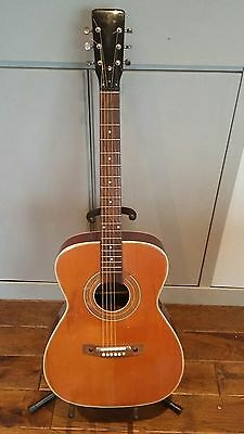 Vintage retro acoustic guitar from the 60's E-ROS  Recanti Italy model 405