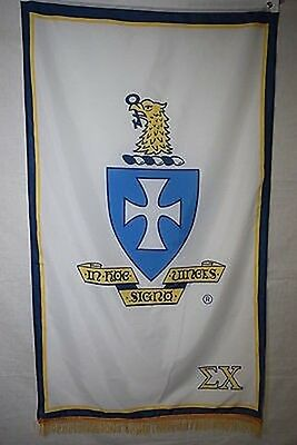 Sigma Chi Fraternity Greek College Officially Licensed 3x5 feet Banner Flag