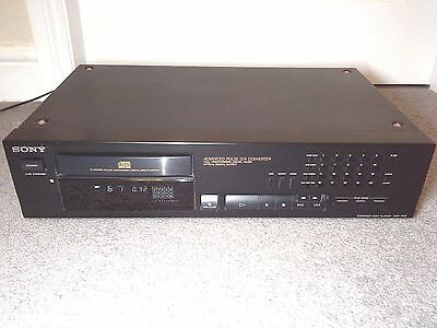 Sony CD Compact Disc Player Model CDP-761E Optical Digital Output