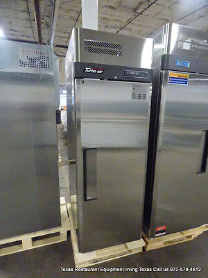 New Turbo Air 1 Door Stainless Steel Freezer on Casters, Model JF25-1