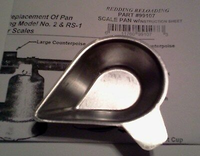 99107 Redding Model No. 2 Scale Replacement Pan - Brand New