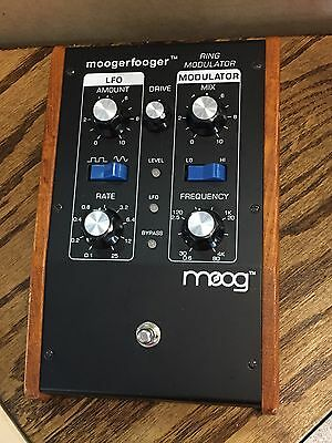 Moog Moogerfooger MF-102 Ring Modulator Effect Pedal - Tested - Free Shipping!