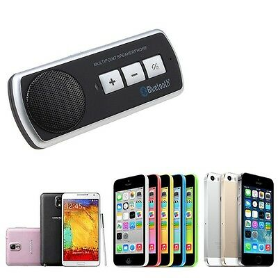 Bluetooth Multipoint Speaker for Smart Phone Galaxy S5 S4 S3 Hands Free Car Kit