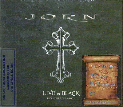 2 Cd + Dvd Set Jorn Live In Black Special Editon Sealed New 2011