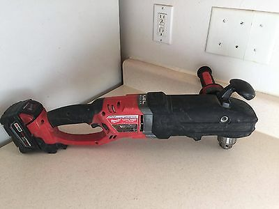 Milwaukee Fuel Super Hawg Right Angle Drill Plumbing HVAC Power Tools