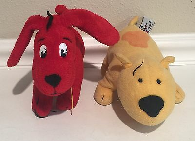 Clifford The Big Red Dog - Set Of 2 Plush