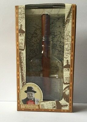 Great Minds Winston Churchill's Cigar And Whiskey Puzzle Brand New