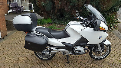 2005 Bmw R 1200 Rt White
