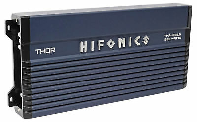 Hifonics TMA-1000.6 1000 Watt 6-Channel Marine Boat ATV Amplifier Class A/B Amp