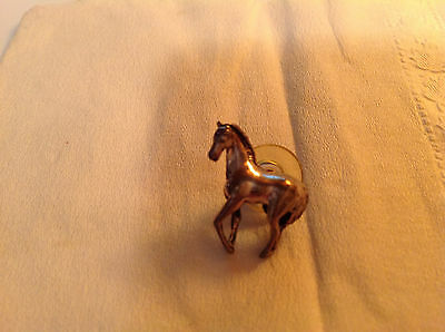 Small Sterling Silver Horse Pin