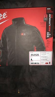 Milwaukee Heated Jacket Large/Black Battery and Charger included!!