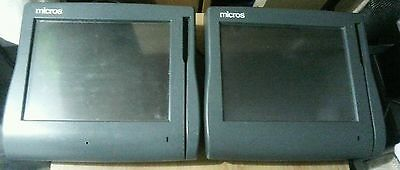 2 MICROS Workstation 4LX System units-Model No.P/N 400714-001-ALL WORKING UNITS!