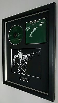 The Smiths-The Queen Is Dead-Framed Original CD- Plaque-Certificate-Morrissey