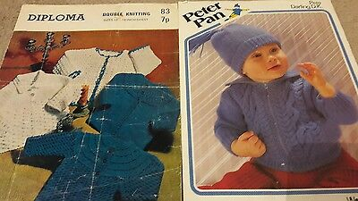 vintage baby clothes knitting patterns