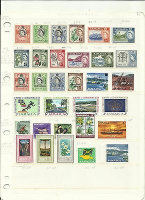 Jamaica 1956 - 1970. Mint Selection.