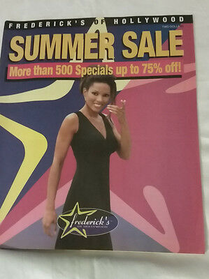 Frederick's of Hollywood 1998 Summer Sale Catalog Women's Fashion